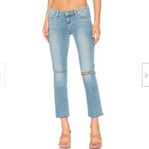 Paige Denim Miki Straight Crop Stretch Jean